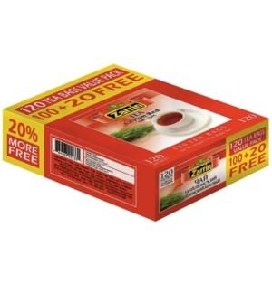 CEYLON RED TEA BAG 120TBx21 PROMO