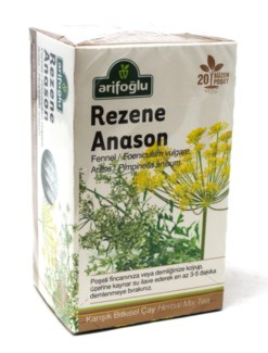 FENNEL-ANIS TEA 20TBx12