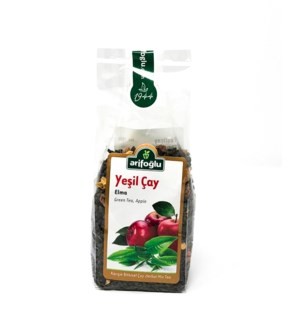 GREEN TEA, W/APPLE 150grX12
