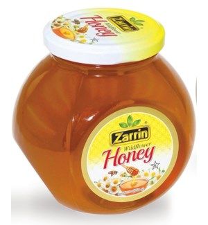 WILD FLOWER HONEY JAR 650GRx12