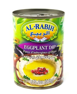 EGG PLANT DIP WITH TAHINI TIN 370GRX24