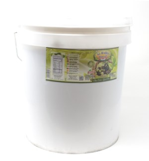 GREEN OLIVES (WHOLE) IN BRINE PLASTIC BUCKET  22LB (10KG)