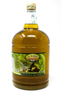 EXTRA VIRGIN OLIVE OIL GLASS BOTTLE 95FL.OZX4