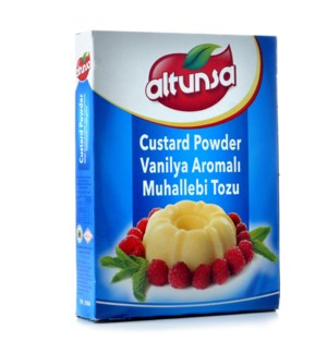 ALTUNSA CUSTARD POWDER BOX 125GRx12