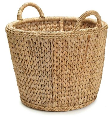 Sweater Weave Log Basket