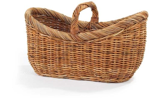 French Country Yarn Basket