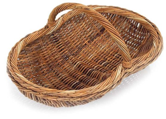 French Country Shed Basket