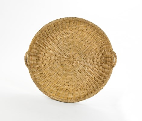 Sweater Weave Large Round Tray