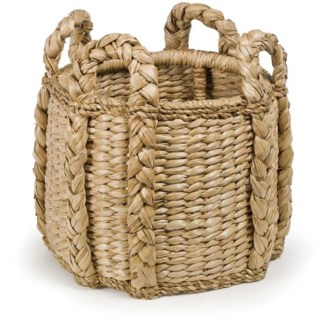 Sweater Weave Kindling Basket