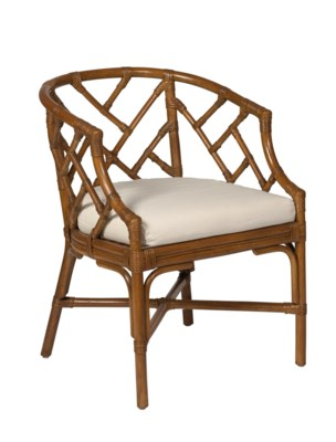 Chippendale Rattan Chair