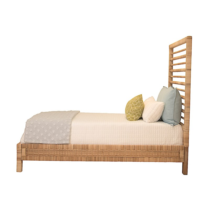 Maritime Twin Bed with Siderails & Footboard