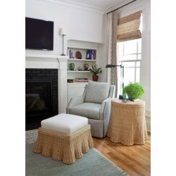 Scallop Round Side Table