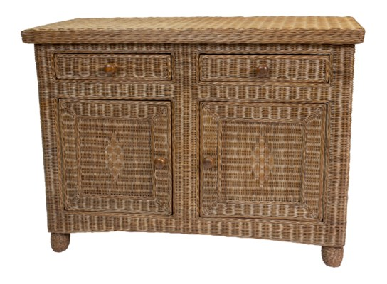 Eastern Shore Wicker Sideboard