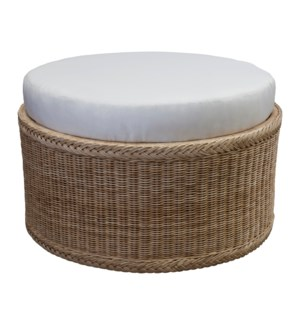 Chatham Round Cushioned Ottoman