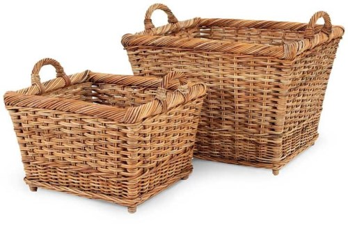 French Country Hearth Basket Set