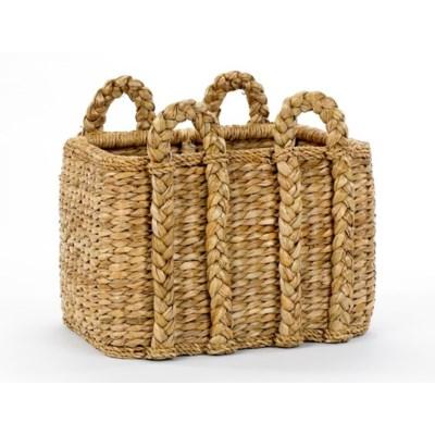Rectangular Rush Basket