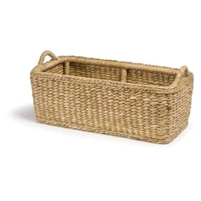 Sweater Weave Hearth Basket
