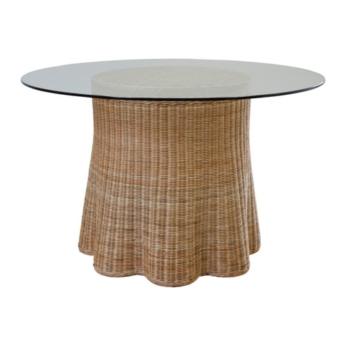 Scallop Dining Table Base