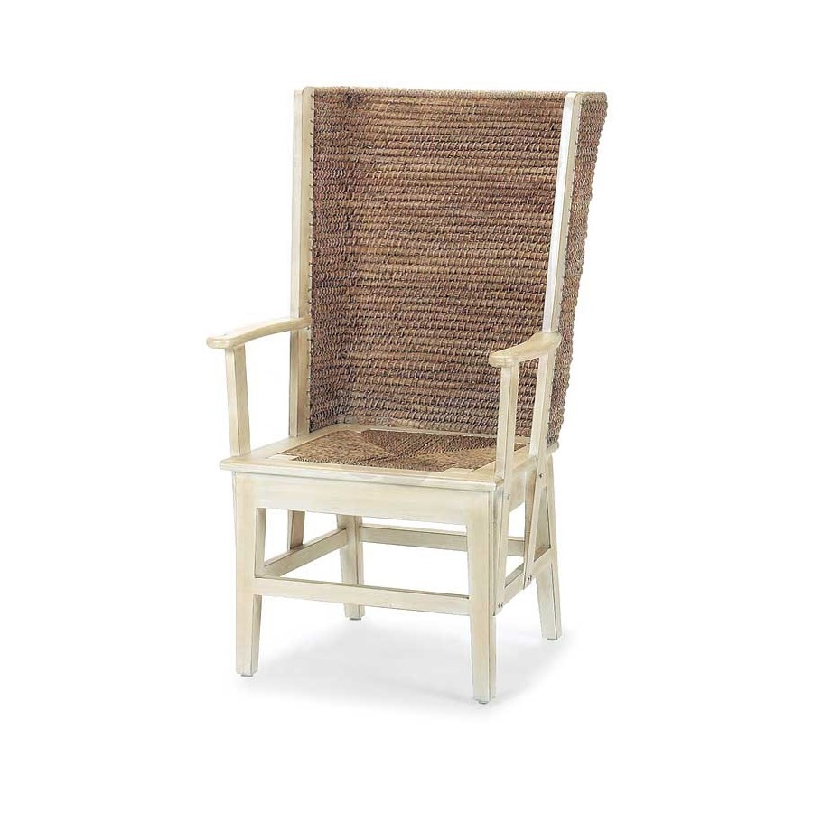 Orkney Isles Antique White Chair