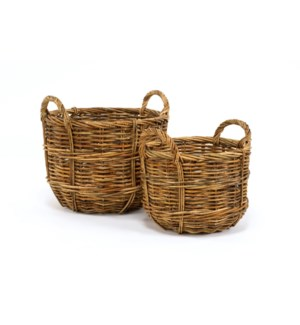 Cottage Set/2 Bushel Baskets