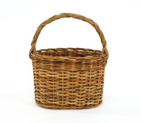 Cottage Powder Room Basket