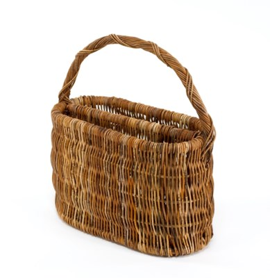 Cottage Magazine Basket