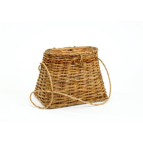 Cottage Fishing Creel Basket