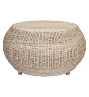 Outdoor Pouf Coffee Table