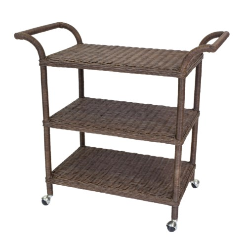Sausalito Rectangular Bar Cart