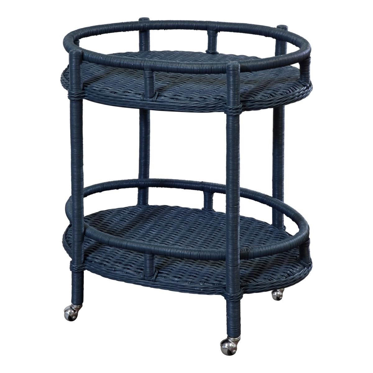 Sausalito Oval Bar Cart