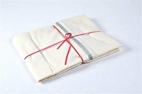 pillowcases with silk trim
