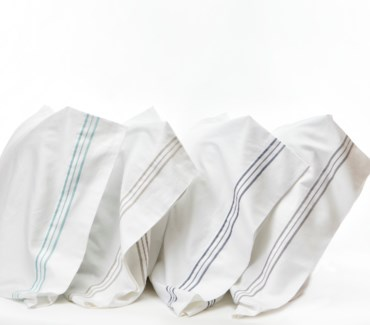 hem stripe pillowcases