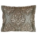 velvet coverlet set - taupe