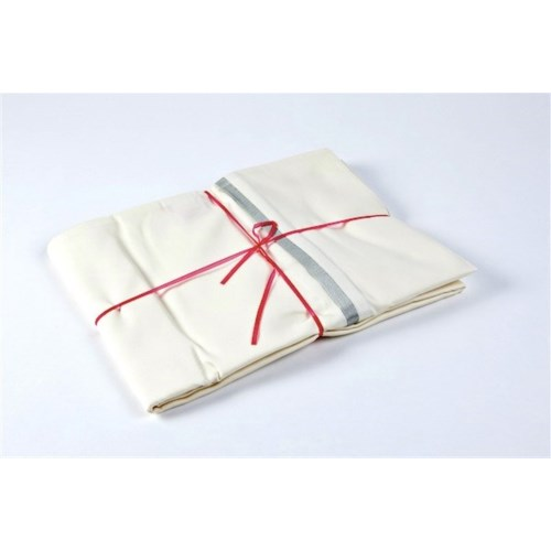 pillowcases with silk trim