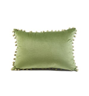 ball trim pillow