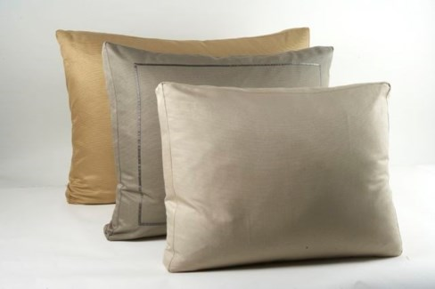 silk texture box pillow