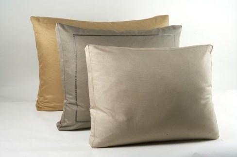 silk texture box pillow