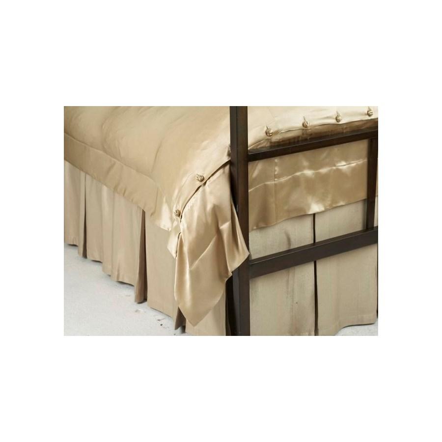 silk texture box pleat skirt