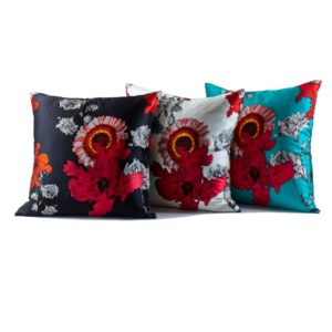 silk prints pillows