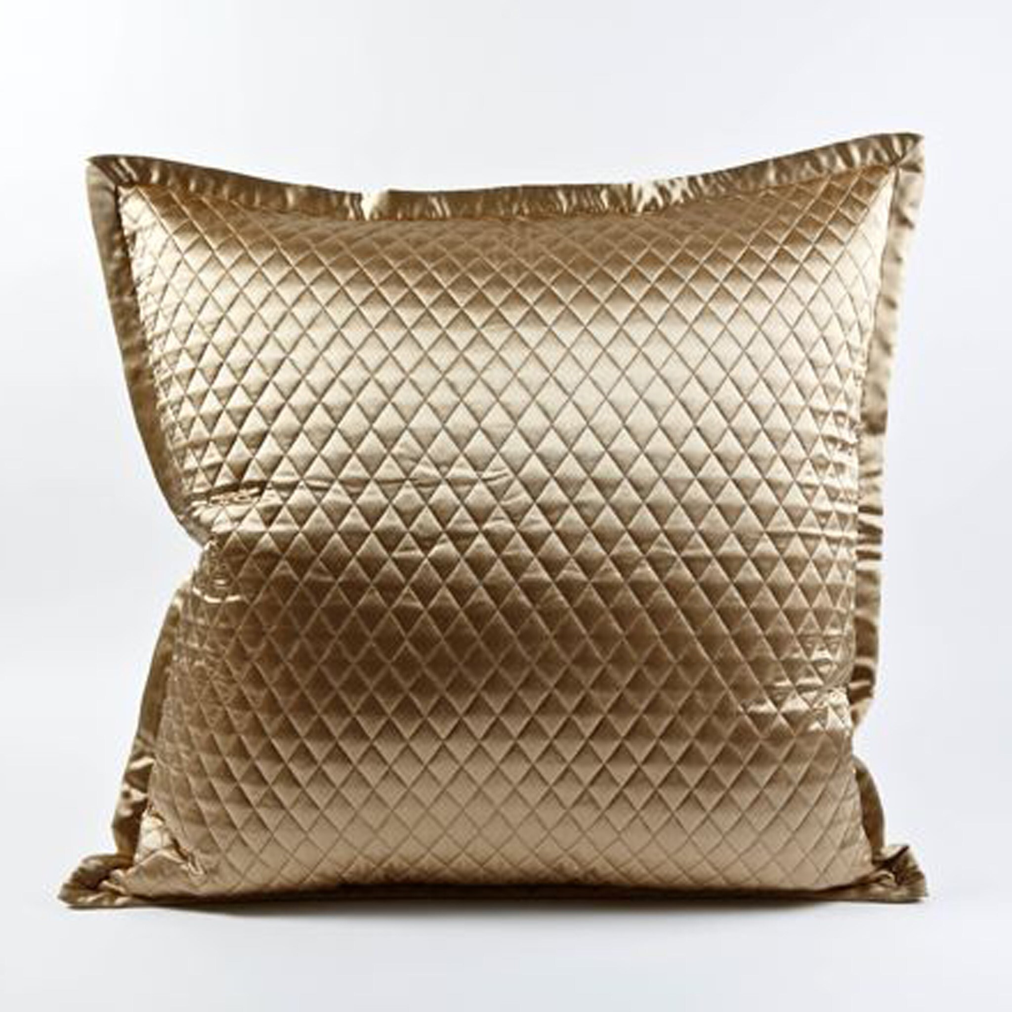 Charmeuse Quilted Sham Quilted Charmeuse Ann Gish Luxury Linens