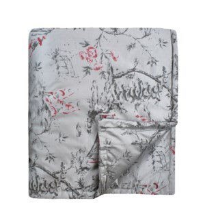 chinoiserie throw