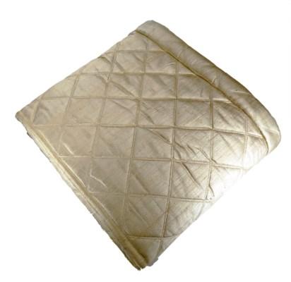 dupione big diamond quilt coverlet
