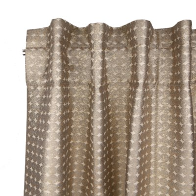 coin curtain panel