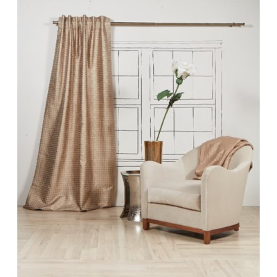 coin curtain panel