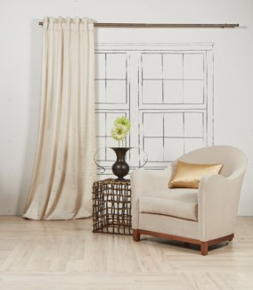imprint curtain panel - pearl