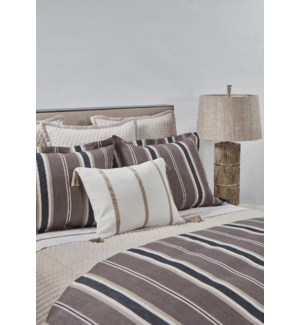 deck stripe duvet set