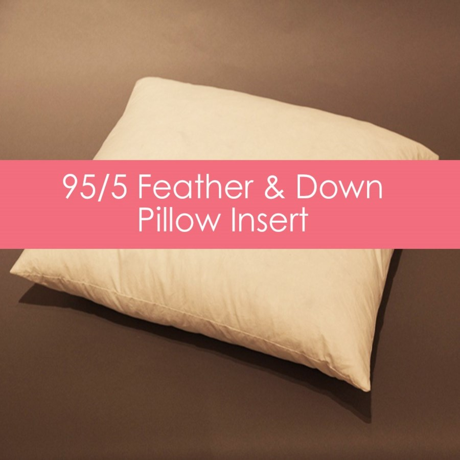 feather/down bolster insert