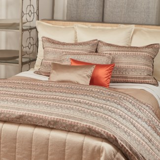 quilted hammered coverlet