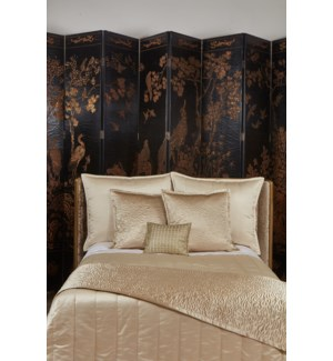 hammered quilted coverlet