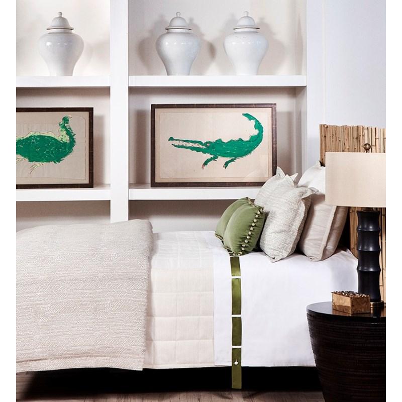 herringbone pillow
